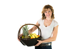 Healthy eating for teenagers Royalty Free Stock Photo
