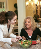 Healthy Eating Together Royalty Free Stock Photos