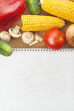 Healthy eating; vegetable recipe Royalty Free Stock Photo
