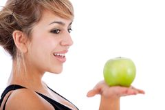 Healthy eating woman Stock Photos