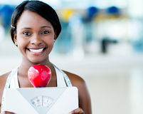 Healthy eating woman Stock Photography