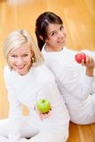 Healthy eating women Stock Photos