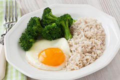 Healthy egg breakfast Royalty Free Stock Photos