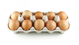 Healthy eggs Stock Image