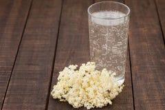 Healthy elder flower juice Stock Photo
