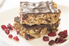 Healthy energy bars Stock Photography