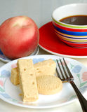 Healthy English Breakfast time with fruit. And coffee Royalty Free Stock Photography