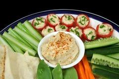 Healthy Entertaining Platter Stock Photo