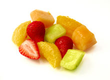 Healthy exotic fruit salad Stock Photography