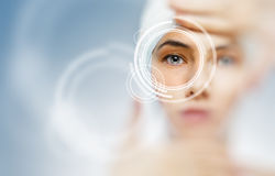 Healthy eyes Royalty Free Stock Photo