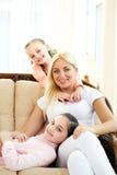 Healthy family Stock Photo