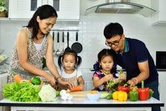 Healthy family Stock Photos