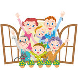 Healthy family Royalty Free Stock Photo