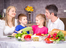 Healthy family Royalty Free Stock Image