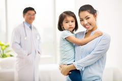 Healthy family Royalty Free Stock Photography