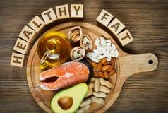 Healthy fat Royalty Free Stock Photo