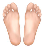 Healthy feet. Royalty Free Stock Images