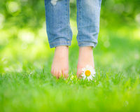 Healthy feet Royalty Free Stock Image