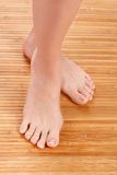 Healthy female feet Royalty Free Stock Photography