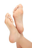 Healthy female feet Royalty Free Stock Photos
