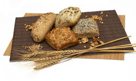 Healthy fiber bread Royalty Free Stock Photography