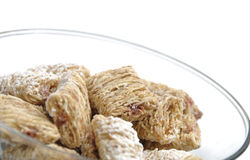 Healthy fiber cereal Royalty Free Stock Image