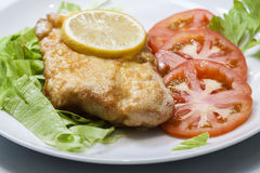 Healthy Fish meal. Image of healthy fish meal Royalty Free Stock Image