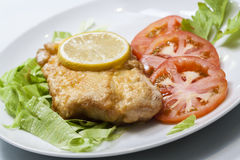 Healthy Fish meal. Image of healthy fish meal Royalty Free Stock Images