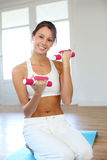 Healthy and fit body Royalty Free Stock Images