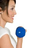 Healthy Fit Girl Stock Image
