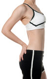 Healthy fit woman body in Sports wear Royalty Free Stock Image