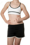 Healthy fit woman body in Sports wear Stock Images