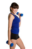 Healthy Fitness Girl Royalty Free Stock Photography