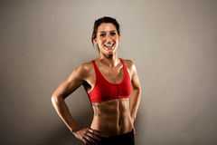 Healthy Fitness Woman royalty free stock photo