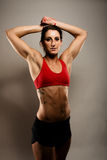 Healthy Fitness Woman royalty free stock photography