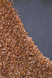 Healthy Flax Seed Background. Background close up of healthy flax seed Stock Photos