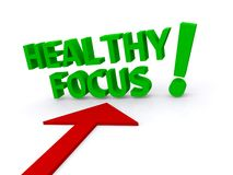 Healthy focus Royalty Free Stock Photography