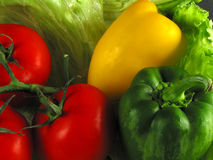 Healthy food. Still of vegetables (crop Royalty Free Stock Image