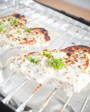 Healthy food. Grilled chicken breasts - Dukan Diet Royalty Free Stock Images
