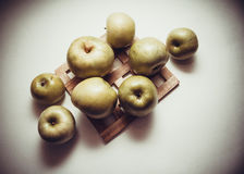 Healthy food: apples Royalty Free Stock Photography