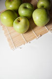 Healthy food: apples Stock Image