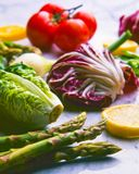 Healthy food. Assorted vegetables. royalty free stock image