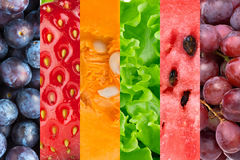 Healthy food background stock image