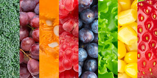 Healthy food background Royalty Free Stock Image