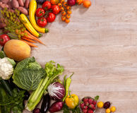 Healthy food background Royalty Free Stock Photos