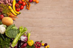 Healthy food background Stock Images
