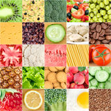 Healthy food backgrounds Stock Images