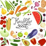Healthy food banner Royalty Free Stock Photo