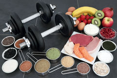 Healthy Food for Body Builders Stock Photography