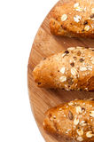 Healthy food bread cereal seeds Stock Photography